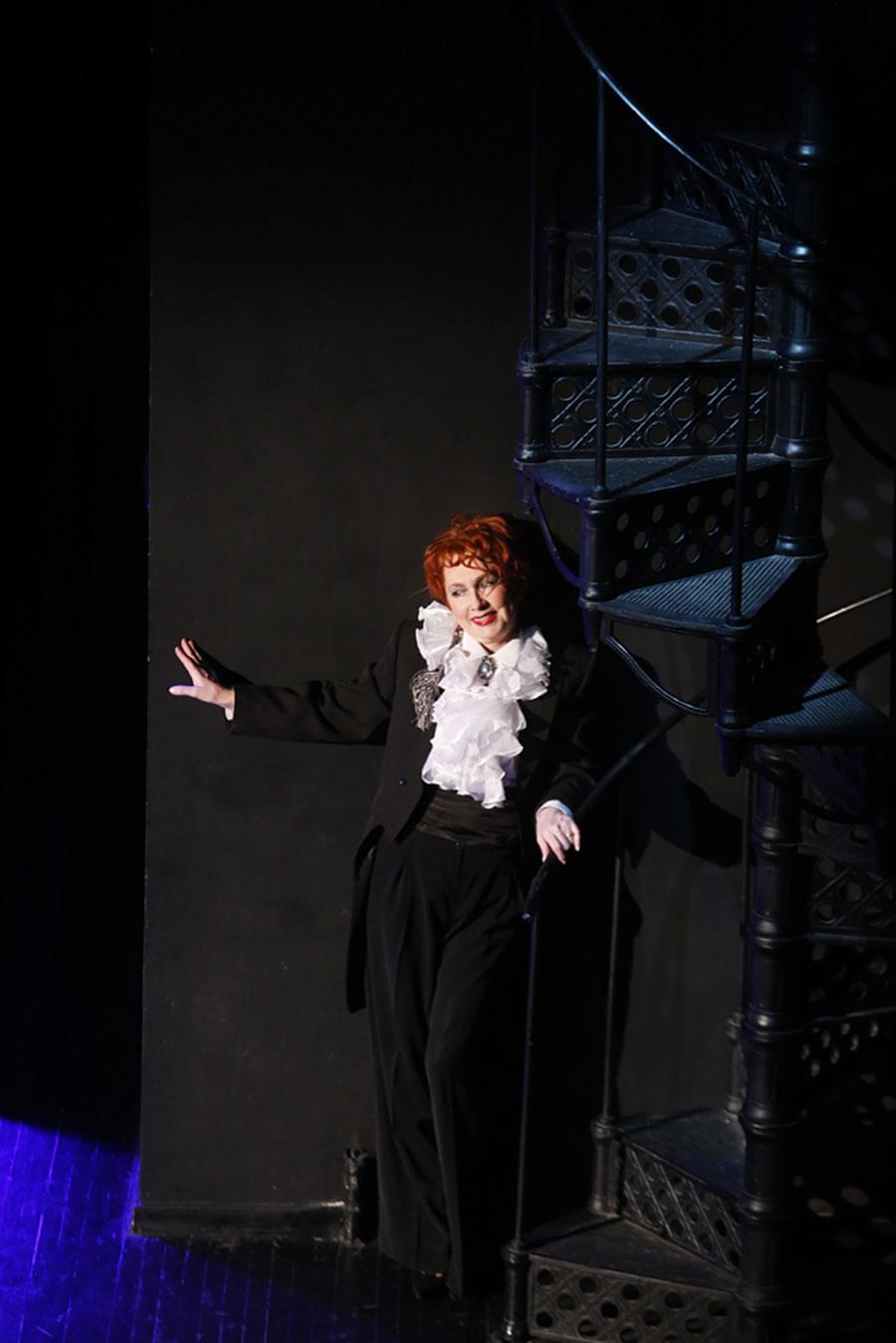 Спектакль «Поэзо-вечеръ. Игорь Северянин», созданный актрисой нашей труппы Ириной Смирновой