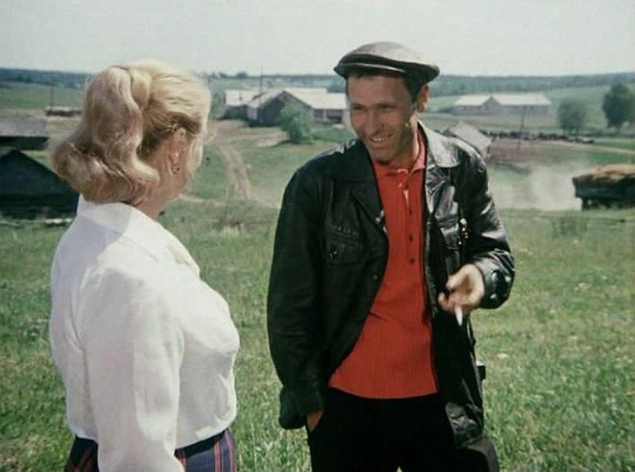 Кадр из фильма Калина красная (1973), режиссер - Василий Шукшин